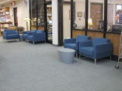 furniture business office area